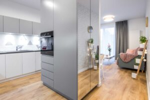 mieszkanie zaprojektowane pod wynajem przy ul. Głowackiego w Krakowie
